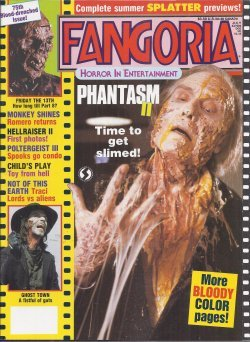 FANGORIA #75, July 1988 (Phantasm II; Monkey Shines; Hellraider II; Child's Play; Not of This Earth)