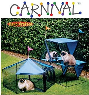 The Carnival Outdoor Pet Playpen from Kittywalk Systems