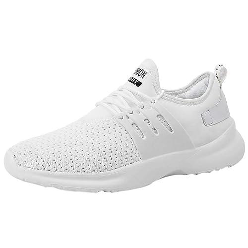 2d5b1d930bd33 Logobeing Zapatos Hombre Deportivos Casuales Zapatillas Deporte Hombres  Running Zapatillas de Tenis de Hombre para Adulto