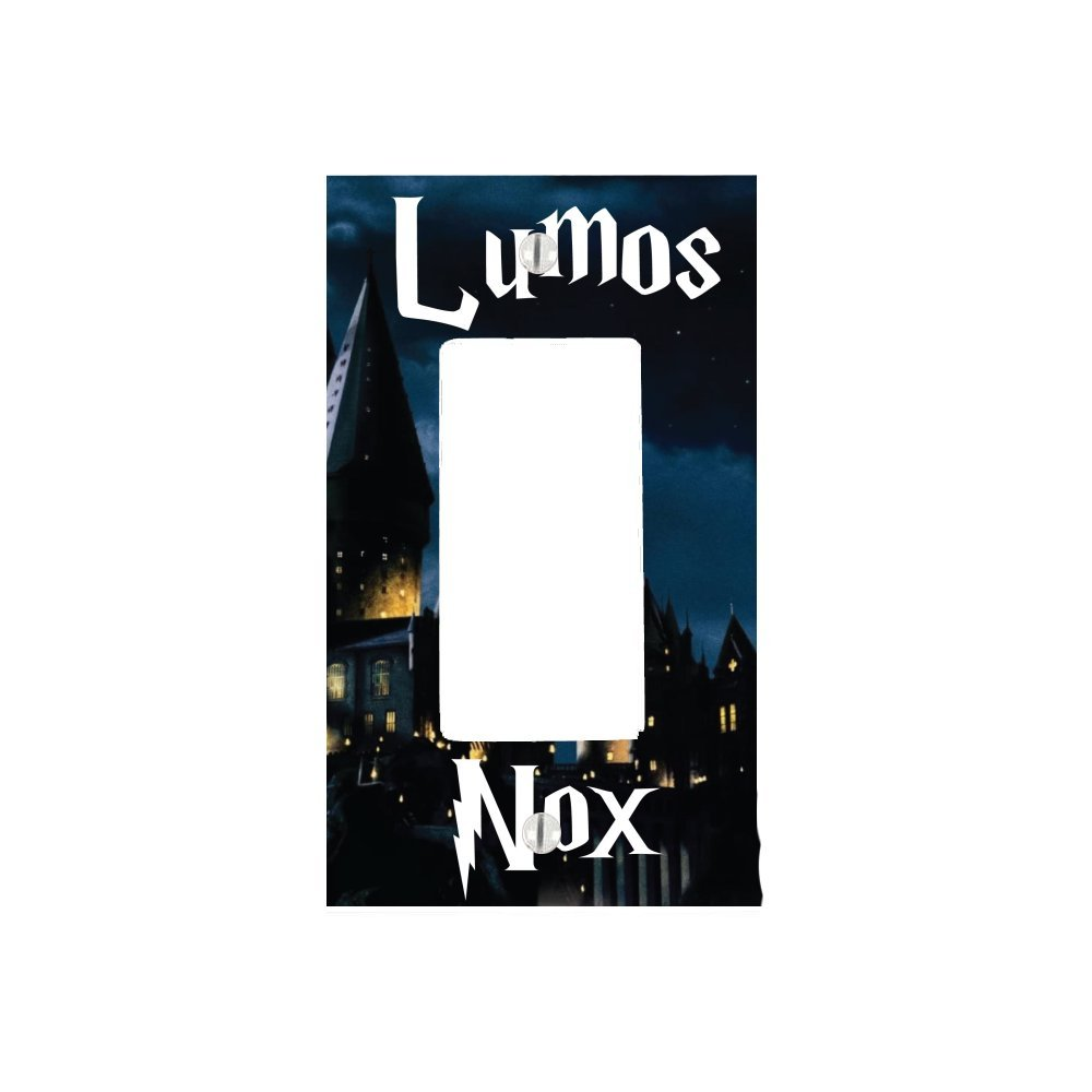 Lumos Nox 1 Gang Decorator Dimmer Wall Plate (2.94 x 4.69in)
