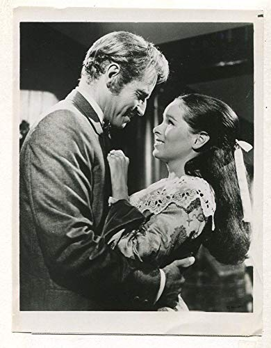 Charlton Heston Geraldine Chaplin-The Hawaiians 1979 CBS TV press photo MBX45