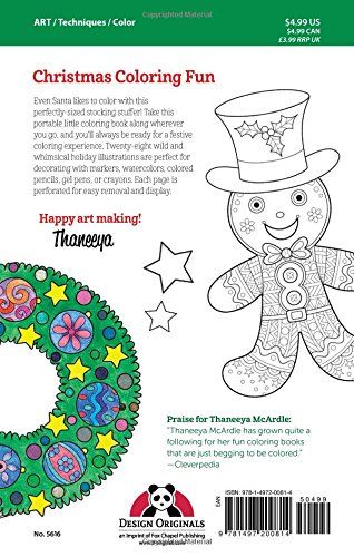 Amazon.com: Color Christmas Coloring Book: Perfectly Portable ...