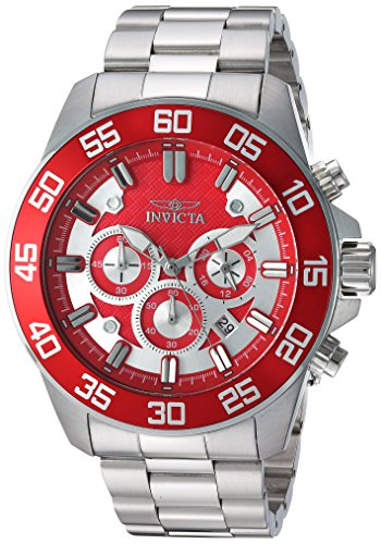 invicta watch red dial - 1