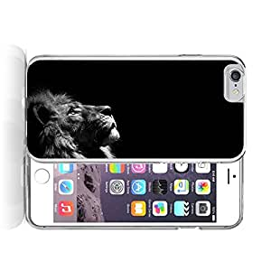 Meniang Jone iPhone 6 plus Cover Case Animal Lion Looking Up In The Dark iPhone uiUKG 6 plus Case