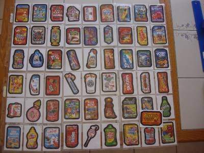 2014 Wacky Packages Series1 Complete Set 1-55 + 3 Random Cereal Killers Cards!! Nice ()
