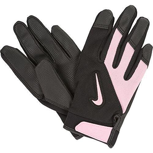 Nike Diamond Elite Edge T-Bal Batting Glove S/M Black & Pink