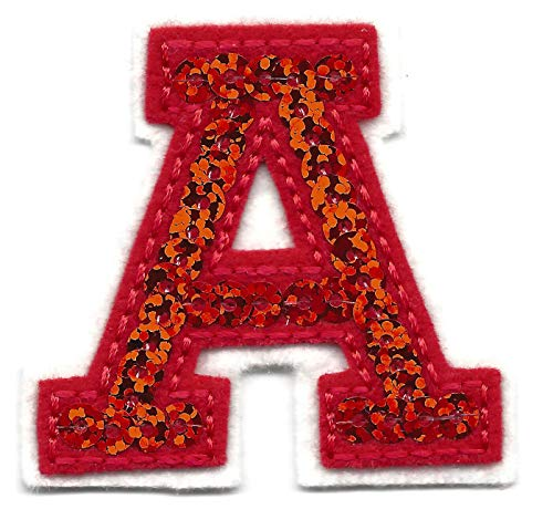 (LETTERS - Red Sequin 2