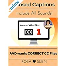 Closed Caption Files Include ALL Sounds in Videos