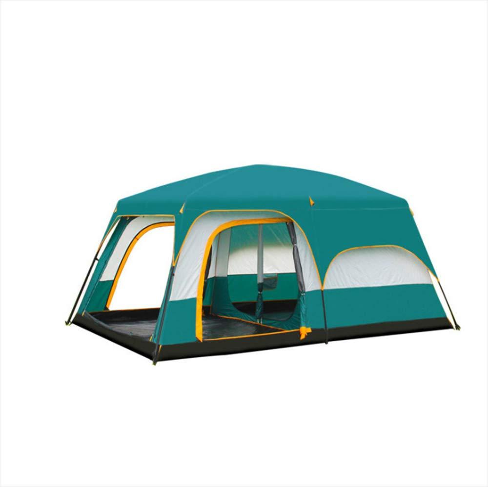 Keoa Zelt Im Freien Kampierendes Doppelzelt Geeignet Für 5-8 Personen Große Kapazität Leichte Wasserdichte UV-Schutz,S