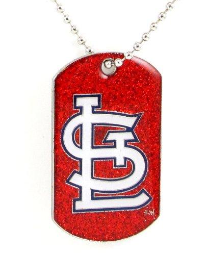 St Louis Cardinals - MLB Glitter Dog Tag - Cardinals Tag Dog Louis