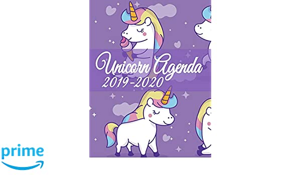 Unicorn Agenda 2019-2020: Back To School or Home Schooling ...