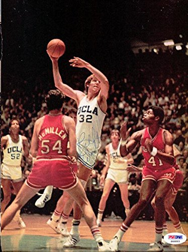 Bill Walton Autographed Signed Magazine Page Photo UCLA Bruins S46893 PSA/DNA Certified Autographed College Magazines