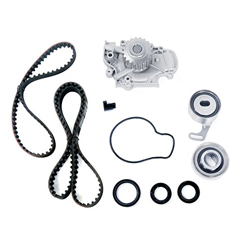 Timing Belt Water Pump Kit for 94 95 96 97 98 99 00 01 02 Honda Accord 2.2L 2.3L SOHC F22B1 F23A1 A4 Honda Balance Shaft Seal
