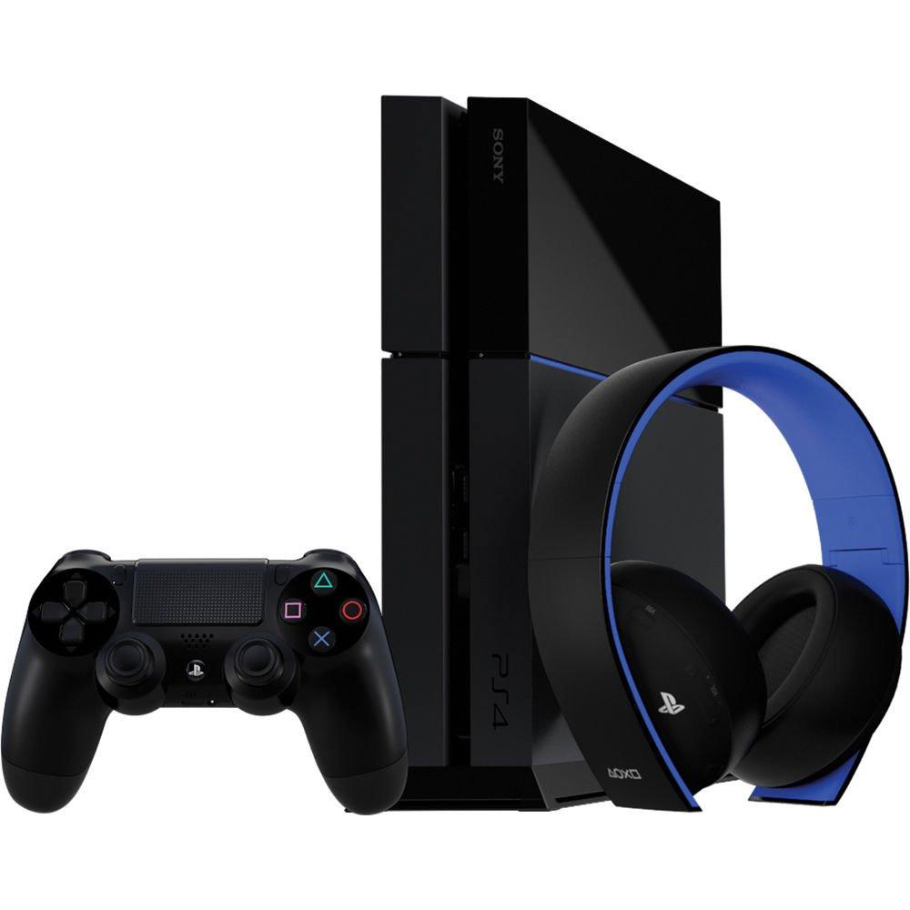 PlayStation Gold Wireless Stereo Headset - Jet Black [Old Model]