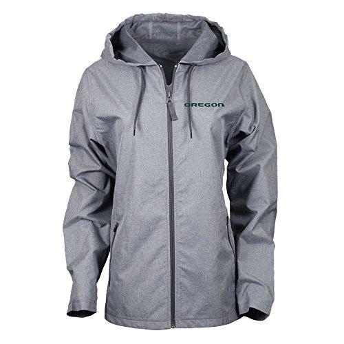 - Ouray Sportswear NCAA Oregon Ducks Women's Venture Jacket, Charcoal Heather, Large