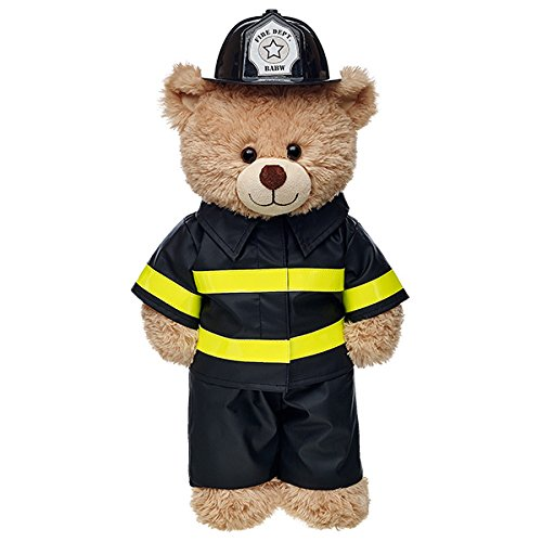 Build-a-Bear Workshop Firefighter Costume 3 pc.