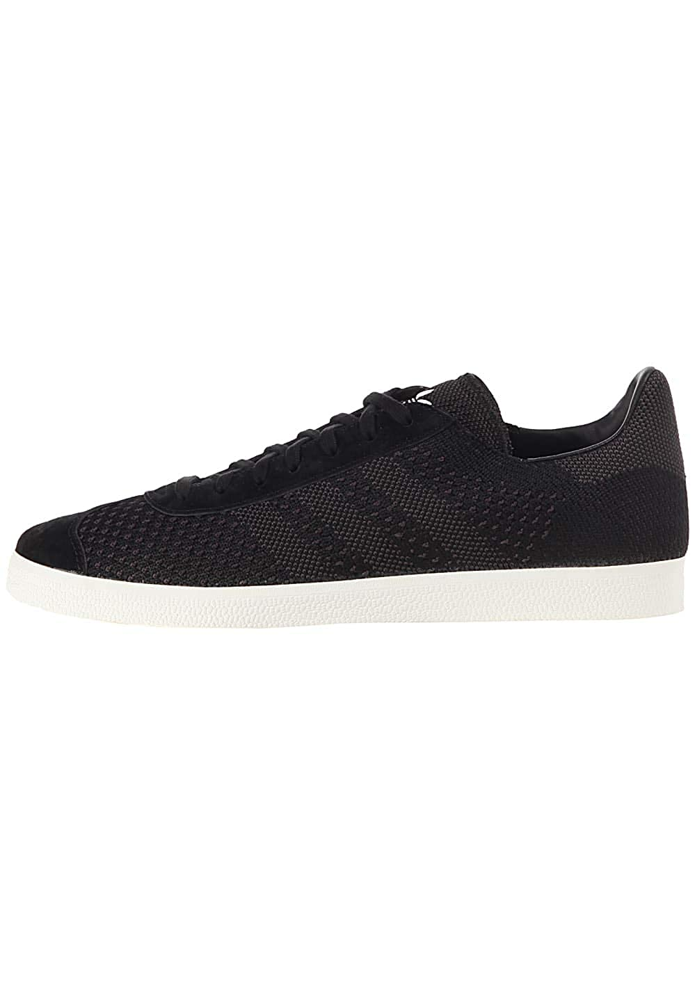 Black (Negbas Negbas Casbla) adidas Men's Gazelle Primeknit Low-Top Sneakers