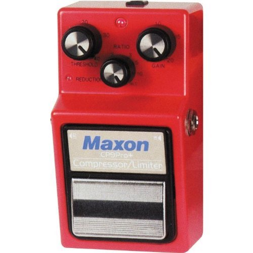 Maxon CP-9 Pro Plus Compressor Guitar Effects Pedal by Maxon (Image #2)