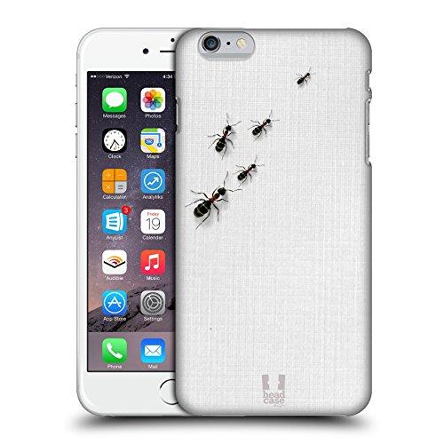 Head Case Designs Formiche Sul Tavolo Camaleonte Cover Retro Rigida per Apple iPhone 6 Plus / 6s Plus