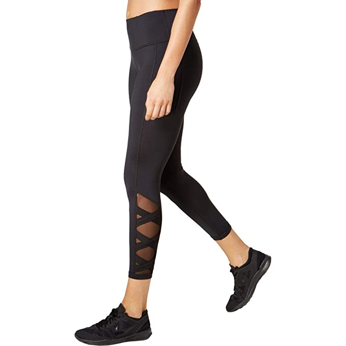 811b097935ff02 Image Unavailable. Image not available for. Color: Ideology Womens Yoga Fitness  Athletic Leggings ...
