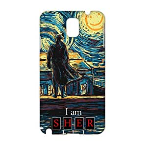 Starry Fall (Sherlock) 3D Phone Case for Samsung Galaxy Note 3