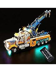 LOTSOFUN Ledverlichtingsset, verlichtingsset voor LEGO 42128 Techniek voor zware lasten (alleen led inbegrepen, geen Lego-kit) - standaard versie