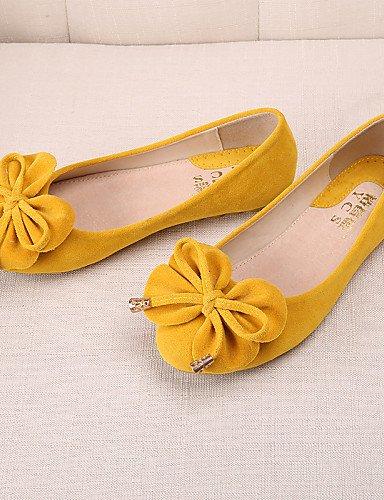 Toe 5 mujer morado Mocasín uk7 10 Flats plano amarillo de tipo ante us9 black cerrado de 8 talón PDX Punta 5 cn42 rosa Redonda Casual negro azul eu41 zapatos qwtx7WB
