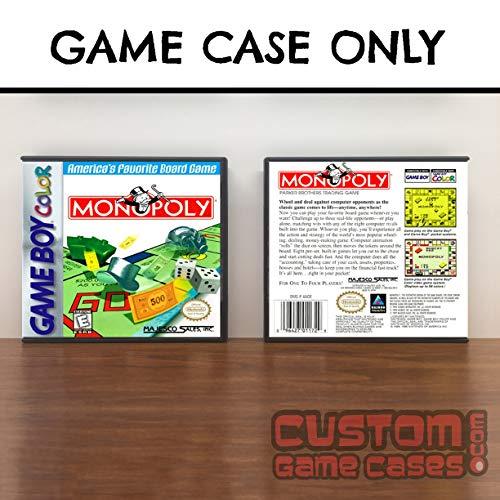 Gameboy Color Monopoly - Case (Monopoly Game Boy)
