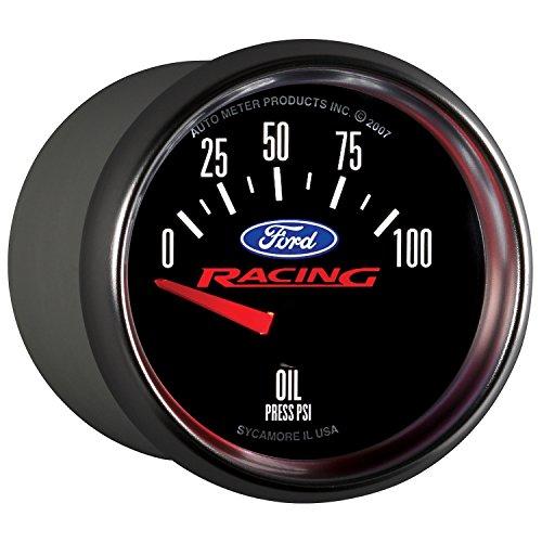 Auto Meter 880076 Ford Racing Series Electric Oil Pressure Gauge (Pressure Ford Gauge Oil)