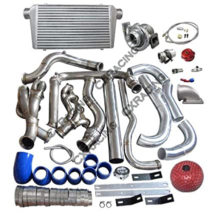 Amazon.com: Turbo Intercooler kit For 99-07 Chevrolet Silverado GMT 800 Vortec V8 4.8 5.3: Automotive