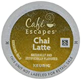 k cup coffee chai latte - Cafe Escapes * CHAI LATTE * 48 K-Cups for Keurig Brewers