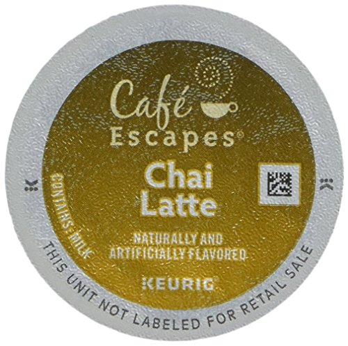 Cafe Escapes CHAI LATTE 48 K-Cups for Keurig Brewers (Original Version)