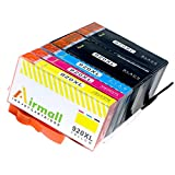 Airmall 5 Pack Compatible Ink Cartridge Replacement for HP 920XL (2-Black, 1-Cyan, 1-Magenta, 1-Yellow)Color Set For HP OfficeJet 6000, 6500, 6500A , 6500A Plus e-All-in-One, 7000, 7500A Wide Format e-All-in-One Printer