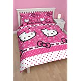 Character world Hello Kitty Sommer Wind Double Rotary Duvet Set by Character World