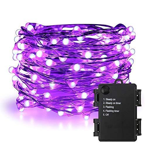 Purple Fairy Lights Outdoor