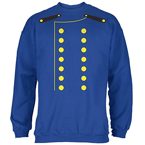 Halloween Hotel Bellhop Costume Mens Sweatshirt Royal SM ()