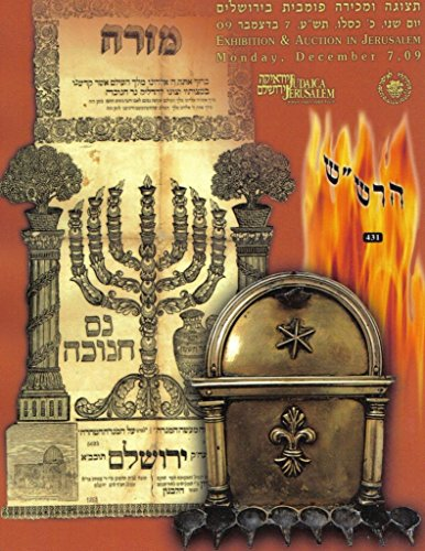 Jerusalem Judaica Hebraica Auction Catalog - December, used for sale  Delivered anywhere in USA