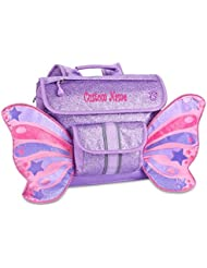 Personalized Bixbee Sparkalicious Butterflyer Backpack - Purple
