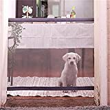 Retractable Pet Gate,Magic Gate for Dog Portable