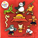 : Mcdonald Happy Meal Kung Fu Panda Figures Set of 8 Toy