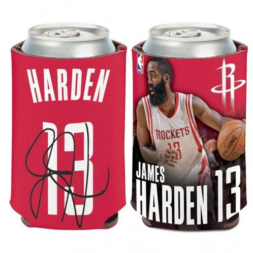 NBA Houston Rockets Can Cooler 12 oz. James Harden Limited CAN KOOZIE by WinCraft