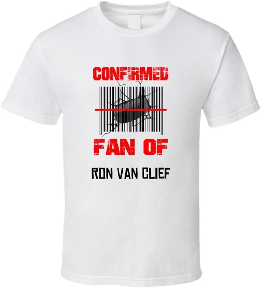 Ron Van Clief NHL solo ventilador de códigos de barras T ...