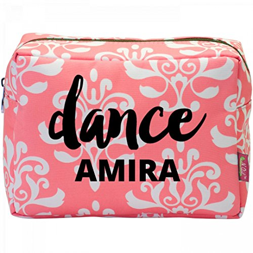 Dance Amira Makeup Bag: Patterned Cosmetic Makeup Bag