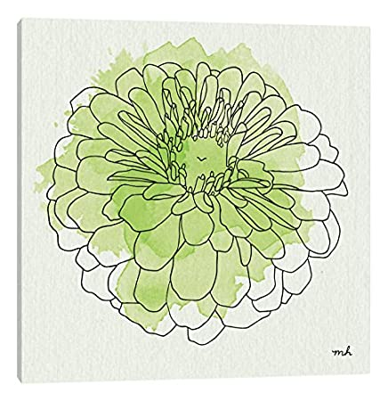 ArtWall Kathy Yates Yellow Phalaenopsis Artmetalz 3 Piece Aluminum Print 36 by 54
