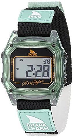 Freestyle Unisex 10027029 Shark Leash Digital Display Japanese Quartz Green Watch (Freestyle Shark Green Watch)