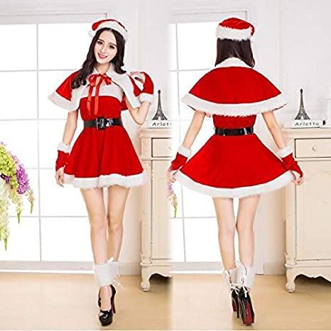 Gem & Admin - Disfraz de Papá Noel para Mujer: Amazon.es: Deportes ...