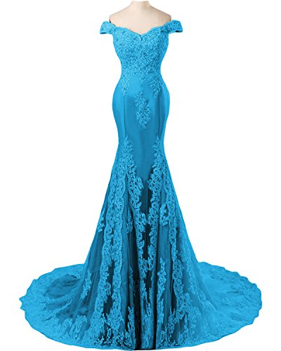 TOSKANA BRAUT - Vestido - Estuche - para mujer Azul
