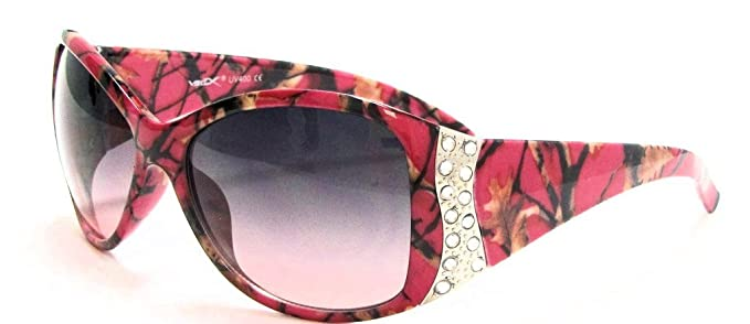 3da126387add VertX Womens Hot Pink Camouflage Sunglasses Fishing Hunting – Hot Pink Camo  Frame – Lavender Lens
