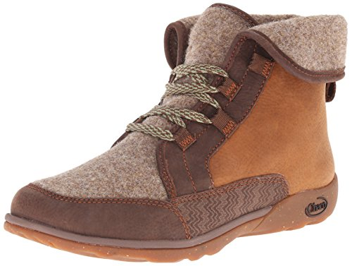 3 Light Pinecone Wide (Chaco Women's Barbary Boot, Pinecone, 11 M US)
