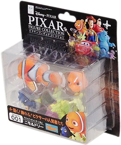 Revoltech Pixar Figure Collection No.001 Nemo & Dory Kaiyodo [JAPAN]